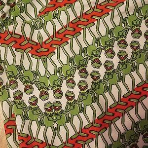 LuLaRoe Pants - Lularoe Disney Kermit leggings TC tall & curvy